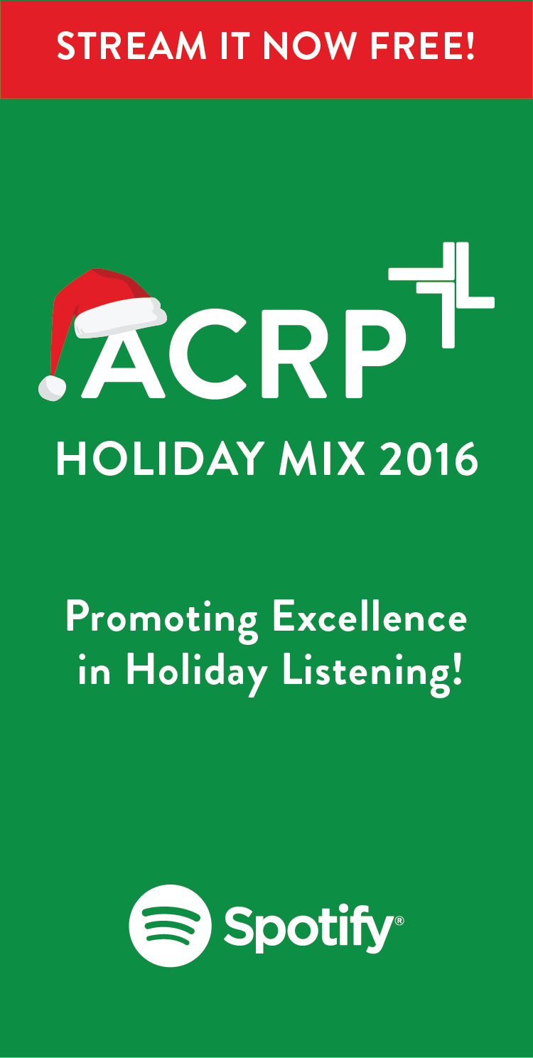 Stream the ACRP 2016 Holiday Mix Free