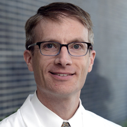 Dr. David Gerber, Associate Professor of Internal Medicine and Clinical Sciences, Associate Director of Clinical Research, Harold C. Simmons Comprehensive Cancer Center