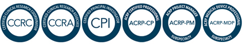ACRP Certification Marks