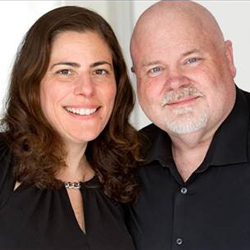 Liz Devine Hewson and Mark Lund of Twin Lights Coaching and Consulting